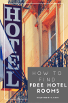 How to Earn Free Hotel Rooms