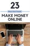 23 Ways Real People Make Money Online