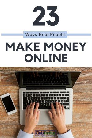 Looking for easy ways to make money online? Avoid the scams and pyramid schemes. Here are 23 real ways to make money online!