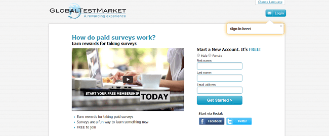 The Best Survey Sites - Global Test Market