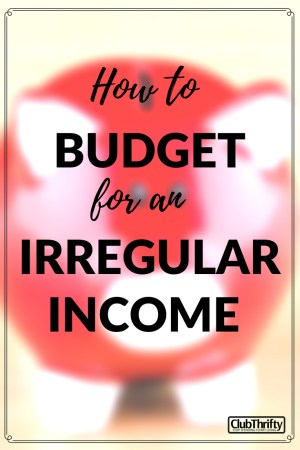 Wow! Great explanation of how to start a budget if your income is inconsistent.