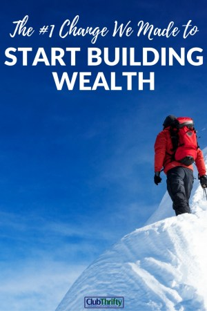 Building wealth is about more than simple tools and quick fixes. To push through the tough times, a different mindset is needed. Here's how to start.
