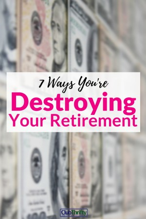 Are you blindly tossing money into your 401(k) account every month? Here are 7 mistakes that may be killing your returns.