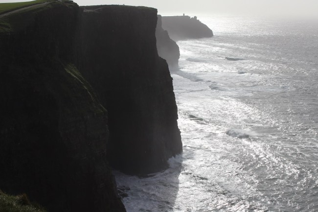 Traveling to Dublin for St. Patrick's Day has always been a dream of mine. Here's a review of our trip, complete with plenty of pictures! Here's the Cliffs of Moher,
