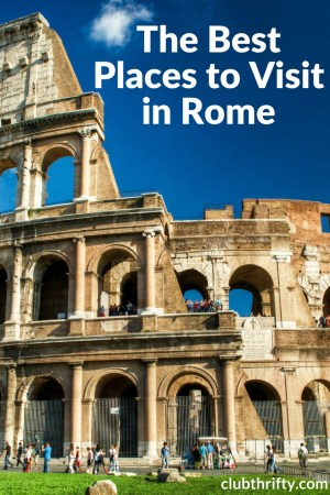 With so many options, looking for the best places to visit in Rome can get overwhelming. Sort through the madness by visiting some of our favorite spots!