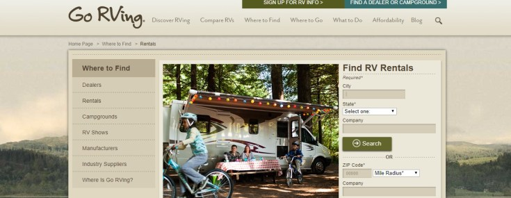 From There Youll Get Connected To Companies That Rent Out RVs In Your Area Near Us RV Rentals Run As Low 71 Per Night But Go Up Around 200