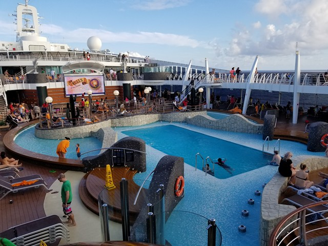 MSC Divina Review A Spectacular Caribbean Cruise Option For Families - Cruise ship pool table
