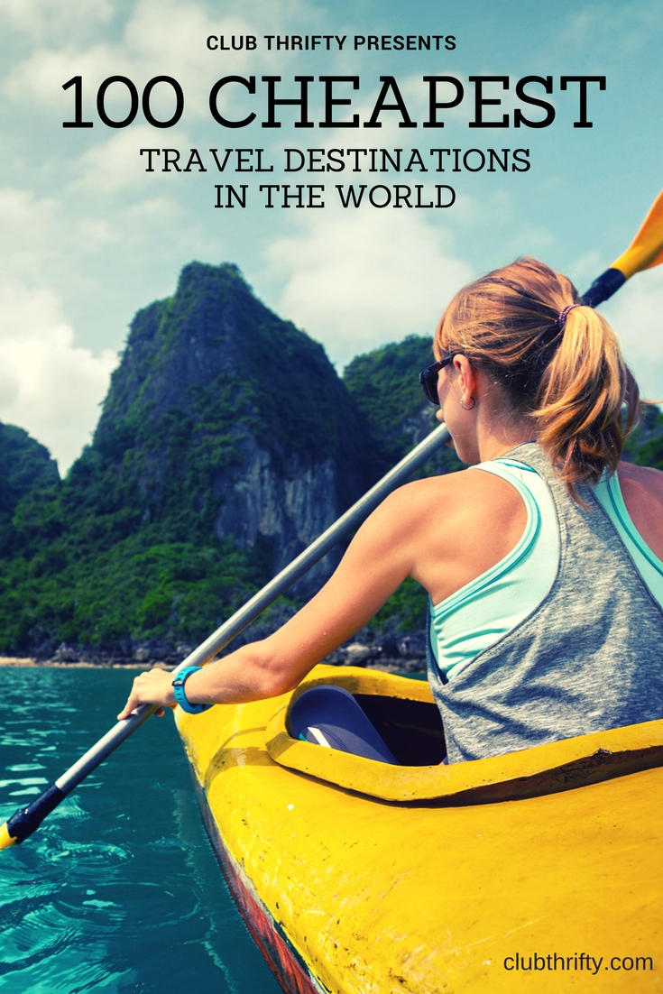 Searching for the cheapest places to travel? To aid your budget travel plans, we've ranked the 100 most popular tourist destinations by price. This list of cheap vacation destinations can help you find the best places to travel on any budget!
