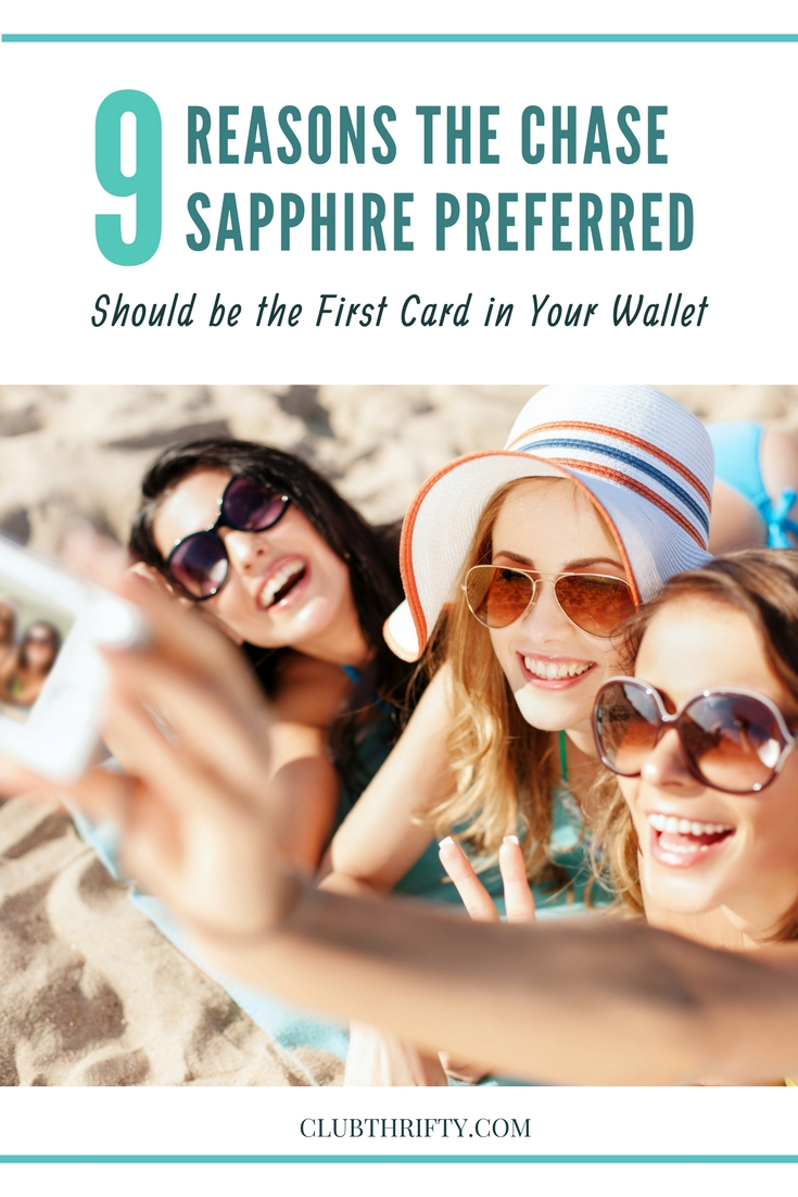 The Chase Sapphire Preferred Card is an excellent rewards card option for beginners. If you're new to earning points and miles, it's the first credit card you should consider. Here are 9 reasons to make the Chase Sapphire Preferred the first rewards credit card in your wallet.