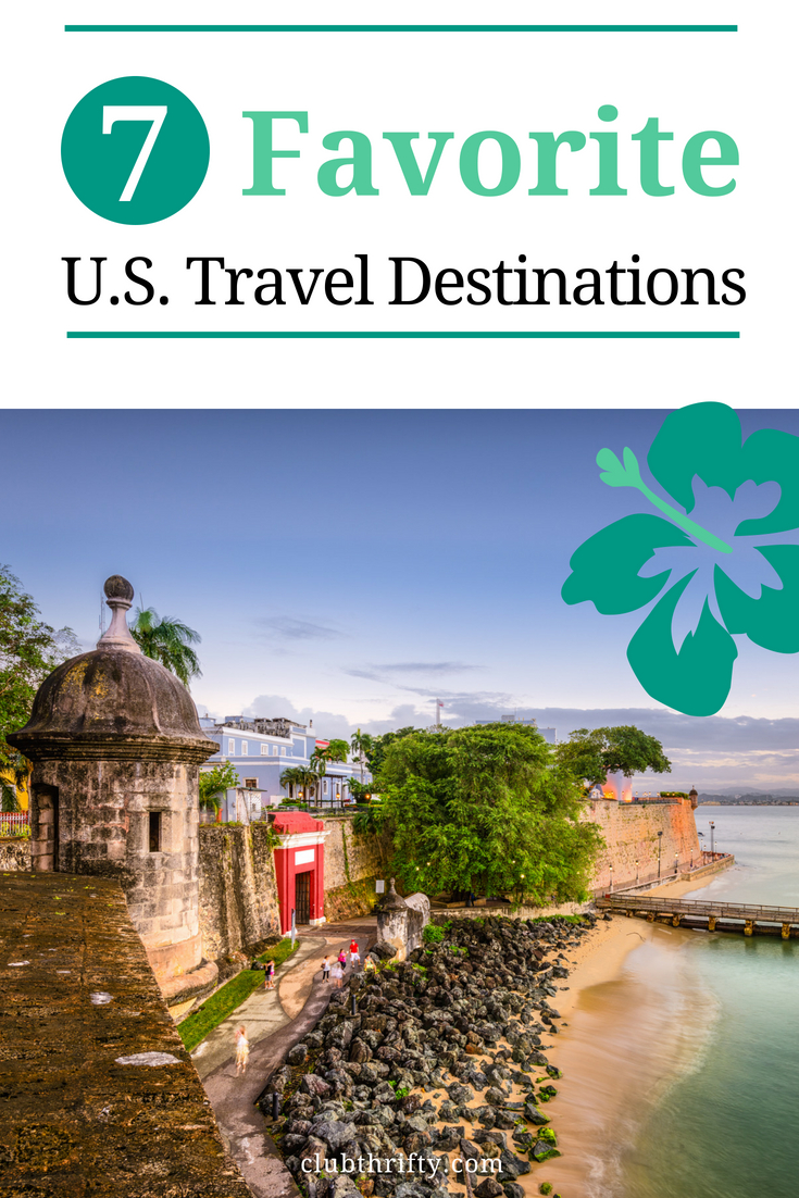 Looking for some great travel destinations in the U.S.? We've got your back. Here are 7 of my favorite travel spots in the United States!