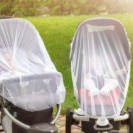 Nu acoperiți cu nimic cărucioarele copiilor când e cald afară!!!