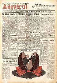 Adeverul, ediţia de Paşte din anul 1933 4