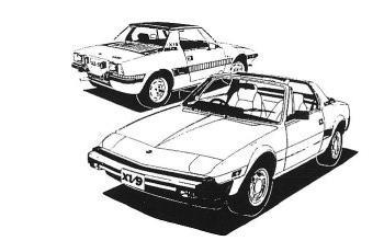 Club FIAT Bertone X1/9 FRANCE