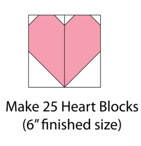 simple hearts quilt free