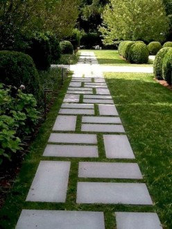 Comfy Front Yard Pathways Landscaping Ideas You Must Know16