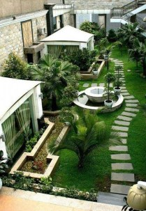 Comfy Front Yard Pathways Landscaping Ideas You Must Know28