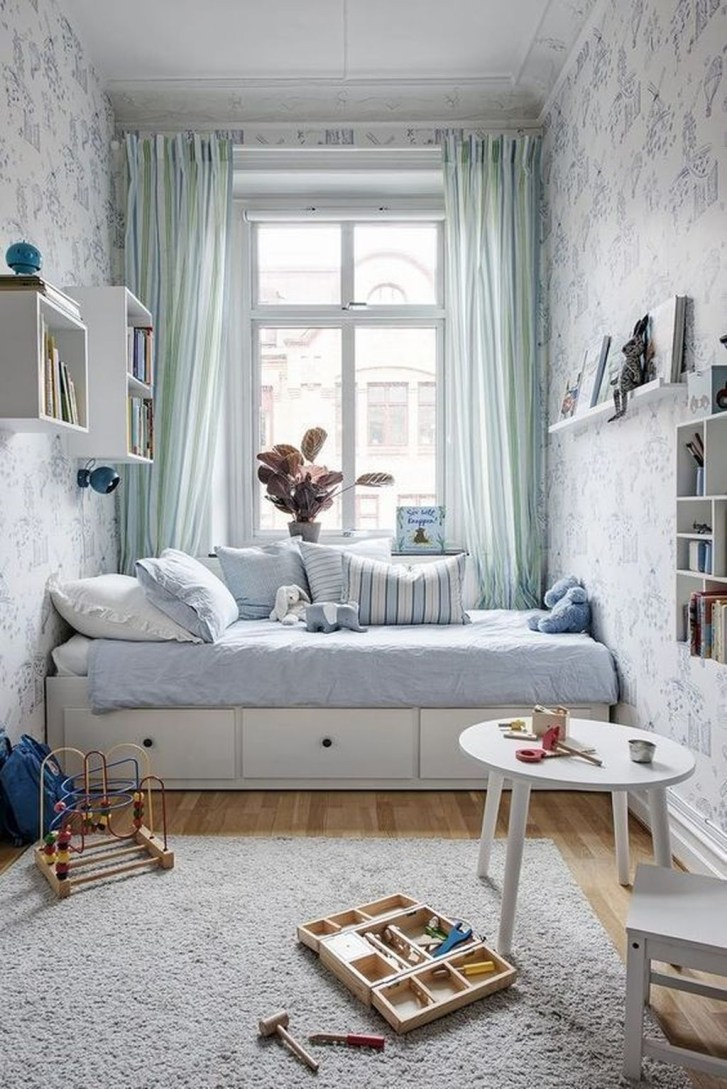 Delicate Tiny Bedroom Decor Ideas For Teens36