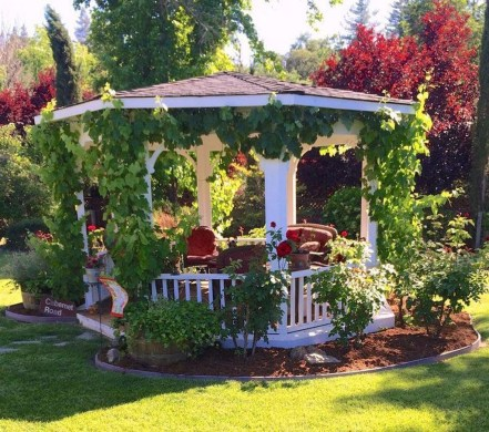 Gorgeous Backyard Gazebo Design Ideas You Must Have10