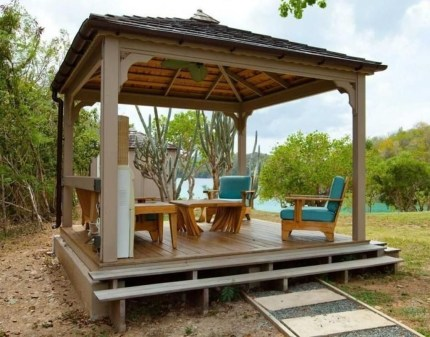 Gorgeous Backyard Gazebo Design Ideas You Must Have11