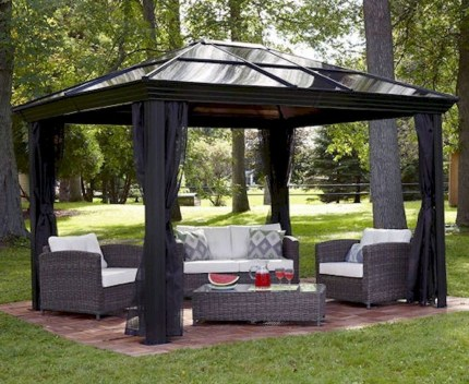 Gorgeous Backyard Gazebo Design Ideas You Must Have12
