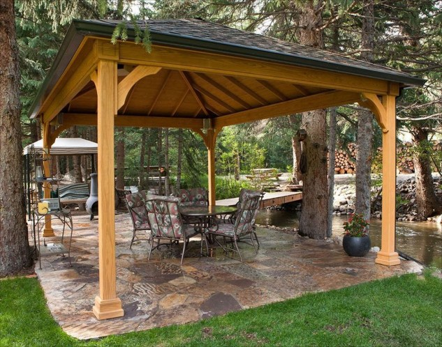 Gorgeous Backyard Gazebo Design Ideas You Must Have15