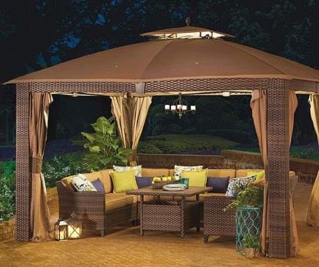 Gorgeous Backyard Gazebo Design Ideas You Must Have29