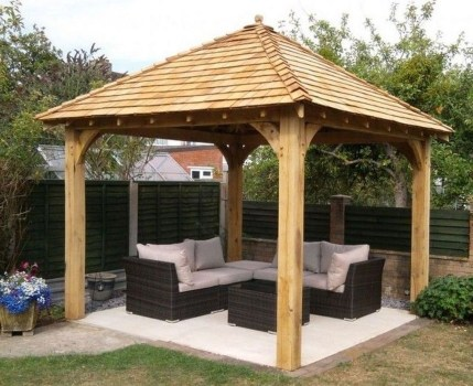 Gorgeous Backyard Gazebo Design Ideas You Must Have33