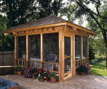 Gorgeous Backyard Gazebo Design Ideas You Must Have34
