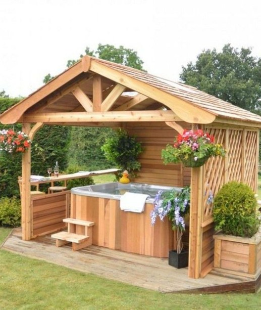 Gorgeous Backyard Gazebo Design Ideas You Must Have38