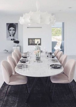 Luxury Feminime Dining Room Design Ideas To Try Asap18