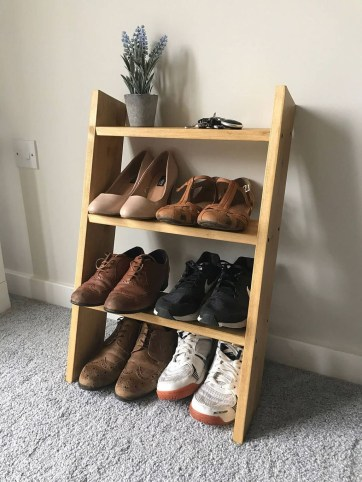 Outstanding Shoes Rack Design Ideas For Your Home33