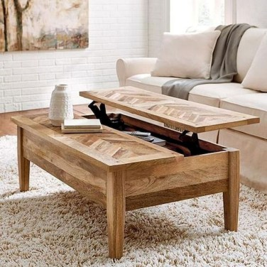 Pretty Coffee Table Design Ideas To Try Asap03