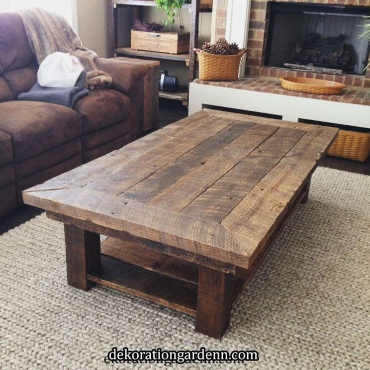 Pretty Coffee Table Design Ideas To Try Asap29