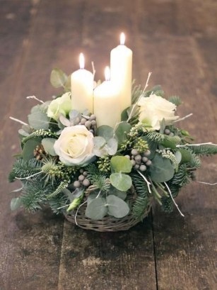 Stylish Lower Arrangements Ideas For Table Decorating18