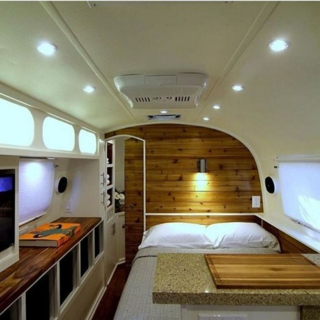 Unique Airstream Interior Design Ideas You Must Have24