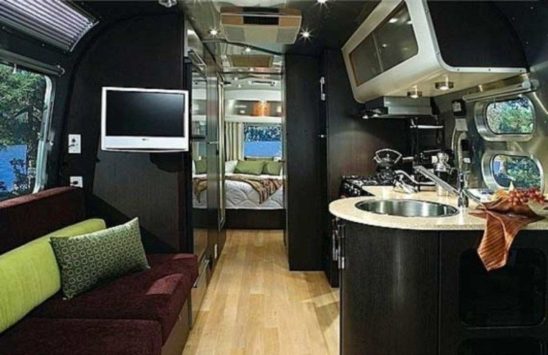 Unique Airstream Interior Design Ideas You Must Have37