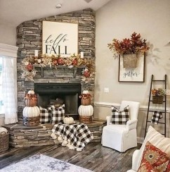 Amazing Fall Living Room Decorating Ideas To Try Asap17