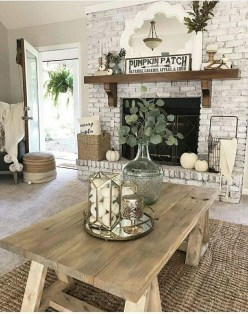 Awesome Living Room Decoration Ideas For Fall11