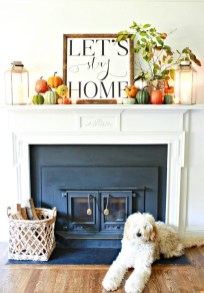 Awesome Living Room Decoration Ideas For Fall29