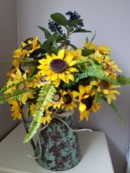 Brilliant Faux Flower Fall Arrangements Ideas For Indoors03