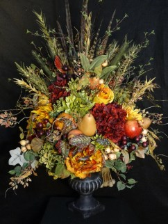 Brilliant Faux Flower Fall Arrangements Ideas For Indoors17