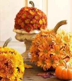 Brilliant Faux Flower Fall Arrangements Ideas For Indoors20