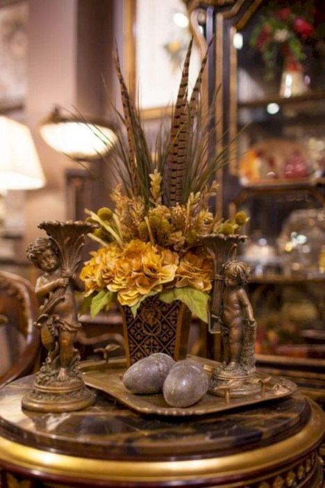 Brilliant Faux Flower Fall Arrangements Ideas For Indoors47