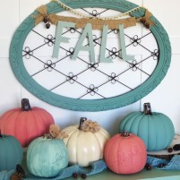 Excellent Diy Fall Pumpkin Topiary Ideas For Home Décor04