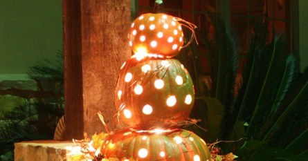 Excellent Diy Fall Pumpkin Topiary Ideas For Home Décor15