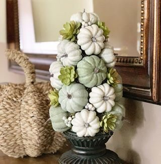 Excellent Diy Fall Pumpkin Topiary Ideas For Home Décor25