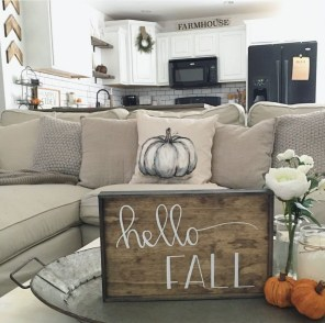 Stunning Fall Home Decor Ideas With Farmhouse Style28