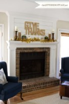 Wonderful Fireplace Makeover Ideas For Fall Home Décor18