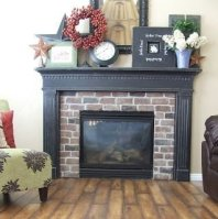 Wonderful Fireplace Makeover Ideas For Fall Home Décor26