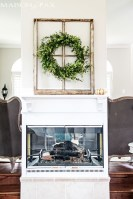 Wonderful Fireplace Makeover Ideas For Fall Home Décor27